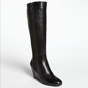 Via Spiga wedge boots